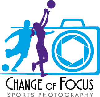 Change of Focus Sports Photography Logo